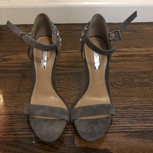 BCBGENERATION grey suede heels
